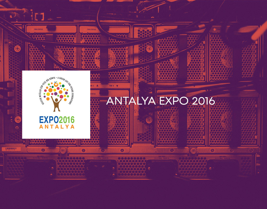 Antalya EXPO 2016 Network Infrastructure Project